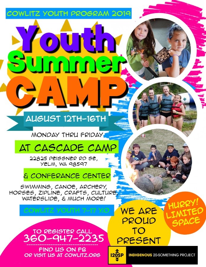 Youth Summer Camp Flyer